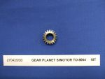 GEAR PLANET S/MOTOR TO 8064     18T